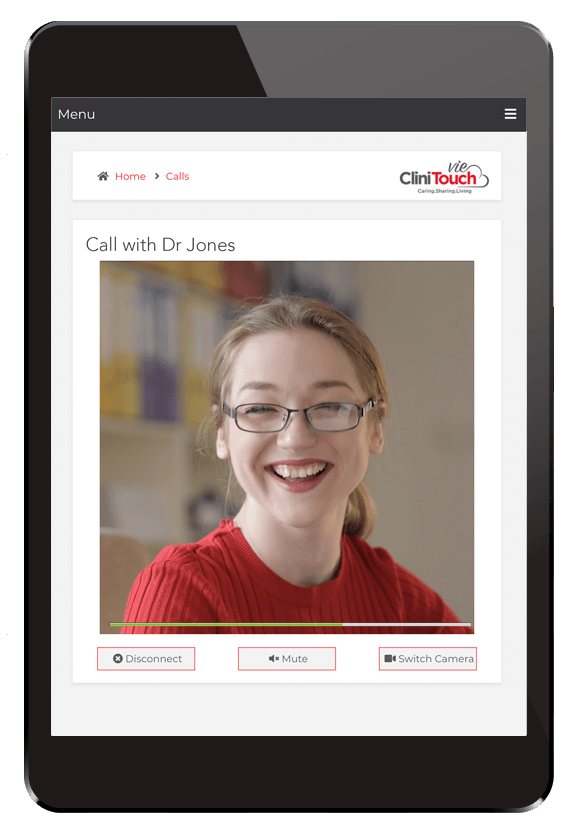 CliniTouch Video Call